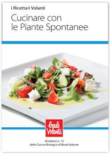 Cucinare con le piante spontanee - Ricettario n.13 della cucina biologica di Baule Volante
