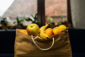 usare borse di stoffa